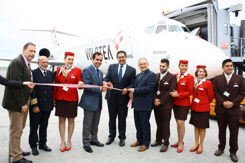 Aeroporto Genova: inaugurata la nuova base Volotea