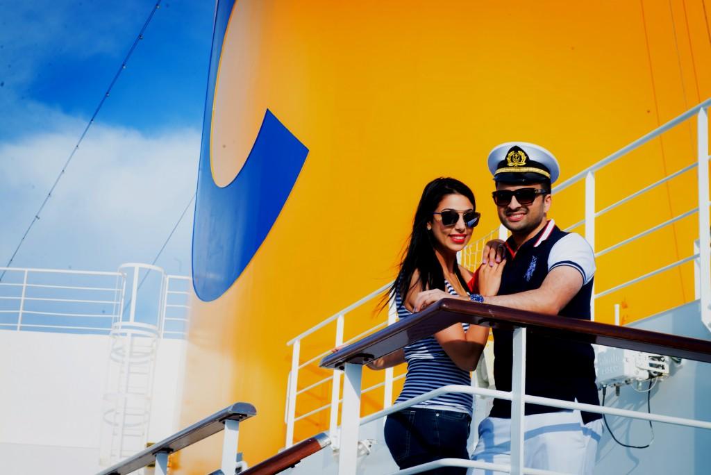 Matrimonio indiano da mille invitati su una nave da crociera Costa