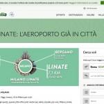 Sacbo contro Alitalia sulla campagna di promozione per Linate