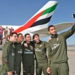 Emirates dedica un A380 ai giocatori del Milan