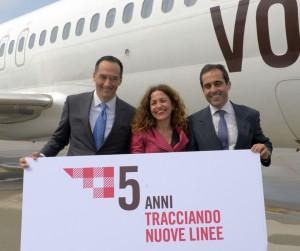 Da sinistra, Camillo Bozzolo, Valeria Rebasti e Carlos Muñoz