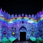 A Gerusalemme per il festival delle Luci