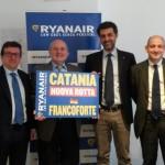 Ryanair cresce a Catania, nuovi voli per Cagliari e Francoforte