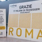 Vueling: 17 milioni di passeggeri trasportati su Roma