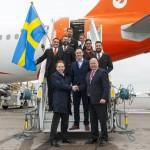 EasyJet inaugura il volo annuale Milano-Stoccolma