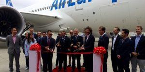 Air Europa riceve l'ottavo Dreamliner, volerà sulla Madrid-Lima