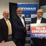 Ryanair inaugura i voli in coincidenza da Milano Bergamo