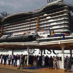 Msc Crociere: a Monfalcone il float out di Seaview
