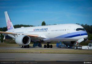 China Airlines aumenta i voli da Roma a Taipei, vendite in forte crescita
