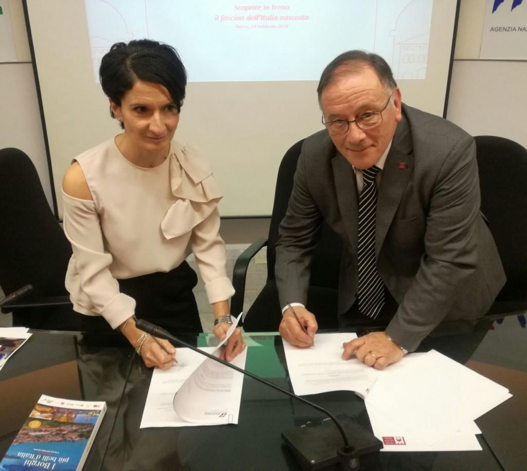 Collaborazione tra Trenitalia e