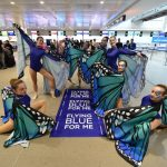 Air France, un flash mob nel primo anniversario di Flying Blue For Me
