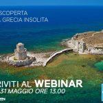Partecipa domani (31 maggio alle ore 13) all'insolito webinar della Grecia
