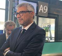 Fabio Lazzerini: «Il mio futuro in Alitalia»