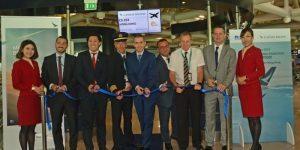 Cathay Pacific: l'A350-1000 è operativo sulla Roma-Hong Kong