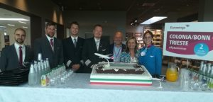 Eurowings: operativa la nuova rotta Colonia-Trieste