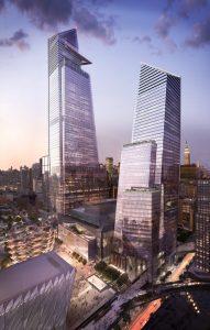 Direttamente dal futuro, a Manhattan, Hudson Yard