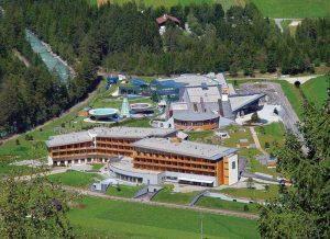 L'Aqua Dome a Längenfeld: terme, spa, relax, sci e scenari unici