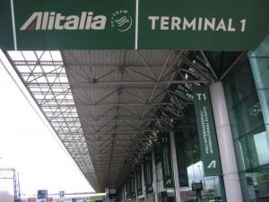 Alitalia trasferisce al T1 di Fiumicino tutte le operazioni di check-in