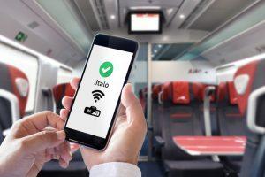 Italo semplifica l'accesso al wi-fi di bordo