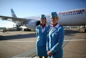 Eurowings, già assunti 500 piloti e assistenti di volo