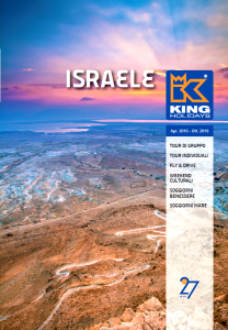 King Holidays presenta il nuovo catalogo monografico Israele 2019