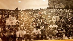 Denver: l'anfiteatro di Red Rocks, dove si sono esibiti i grandi della musica