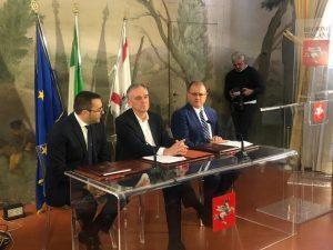 Piombino maxi hub: intesa tra Toscana, Gruppo Onorato e Ars Altmann