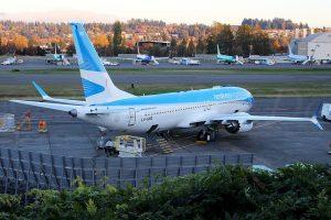 Aerolineas Argentinas: in flotta il primo Boeing 737 Max
