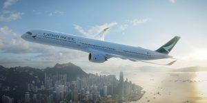 Cathay Pacific: l'A350-1000 debutta a Fiumicino il 1° giugno