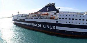 Grimaldi Lines raddoppia le partenze giornaliere sulla tratta Civitavecchia-Olbia