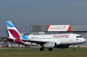 Austrian Airlines ed Eurowings aumentano la capacità offerta sull'Italia
