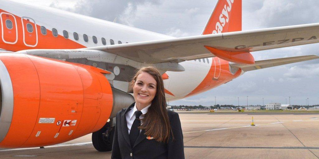 EasyJet, nell'ultimo anno il 15% dei piloti è donna