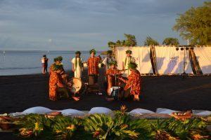 Tahiti celebra i 250 anni dallo sbarco del capitano Cook