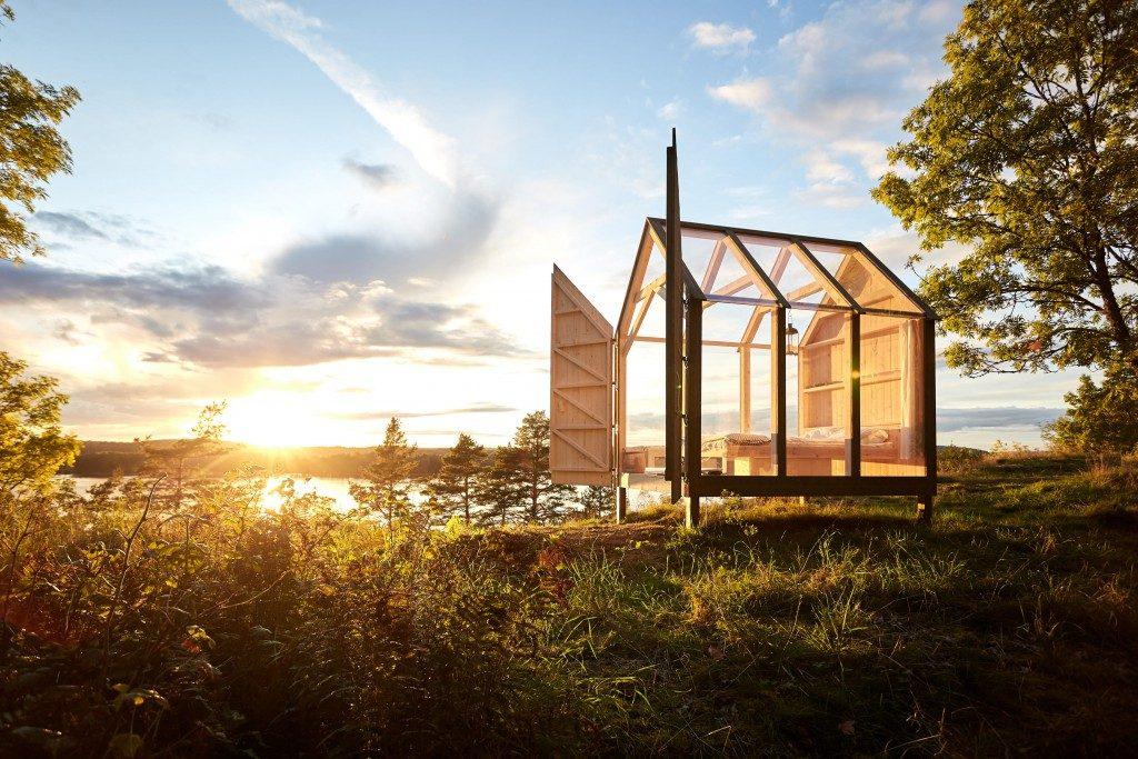 Svezia, vacanza originale e antistress nella cabina di vetro