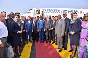 Turkish Airlines vola a Pointe Noire, in Congo