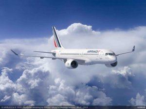 Air France – Klm ordina 60 nuovi Airbus A220-300