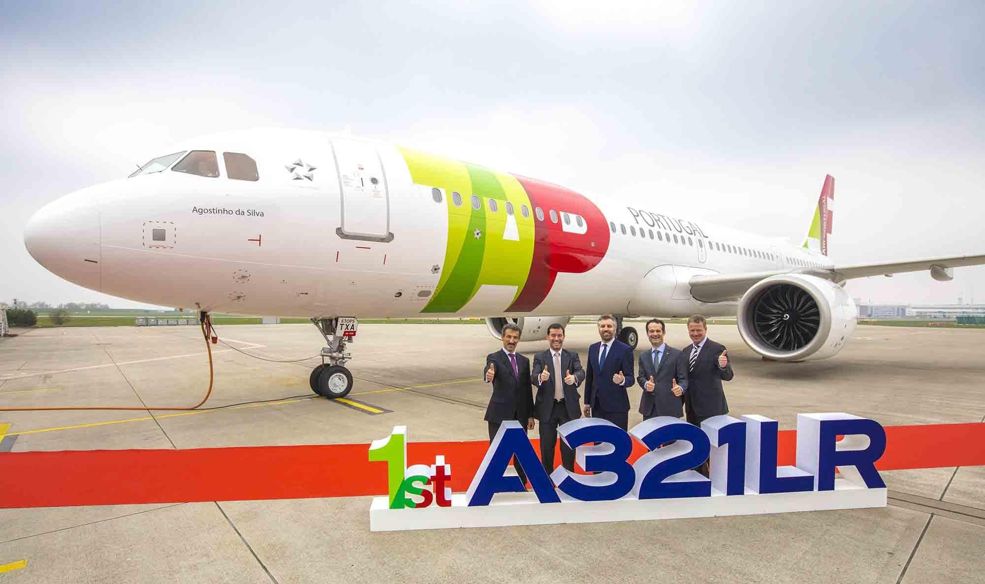 Tap Air Portugal prende in consegna il primo A321Lr