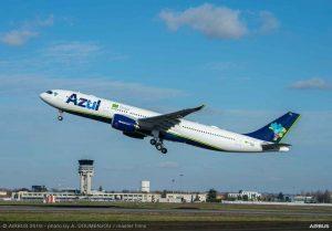 Azul: obbligatorio test anti Covid-19 per voli tra Portogallo e Brasile