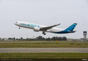 Airbus: volo inaugurale per l'A330neo