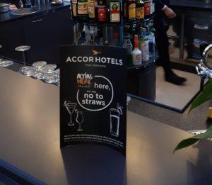 Accor: niente più cannucce di plastica negli hotel italiani
