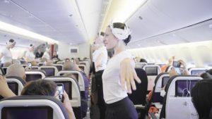 Air France, spettacolo ad alta quota del corpo di ballo dell'Opéra di Parigi