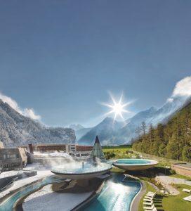 Aqua Dome, Tirolo: il plus è la spa avveniristica a misura di ospite