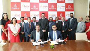 Emirates sigla un codeshare con l'indiana SpiceJet