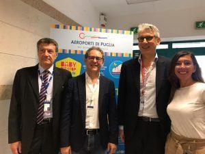 """Aeroporti di Puglia e Unicef inaugurano a Bari il """"Baby Pit Stop"""""""