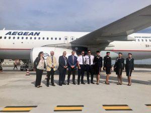 Aegean Airlines operativa sulla Genova-Atene
