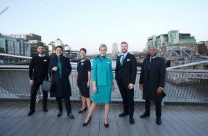 Aer Lingus: a febbraio il debutto delle nuove uniformi
