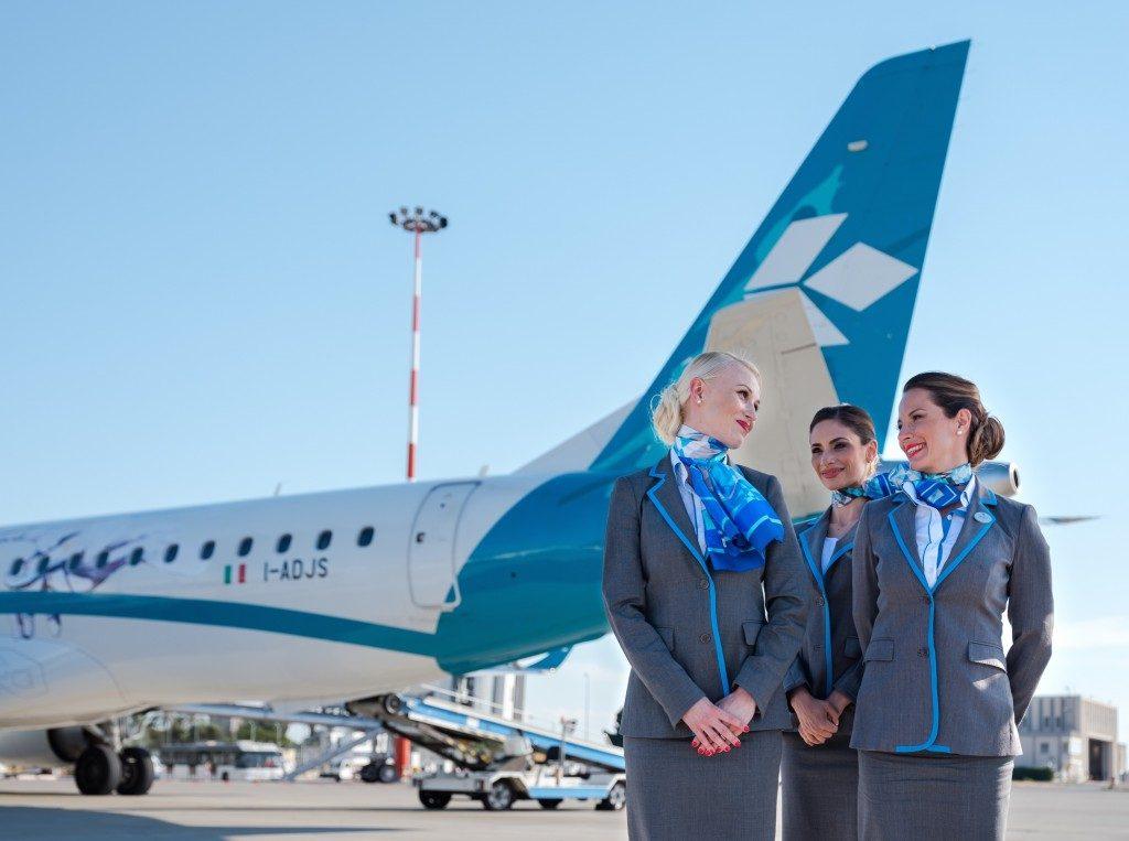 Air Dolomiti cerca assistenti di volo: recruiting in Italia a ottobre