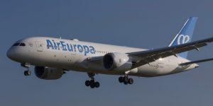 Il Dreamliner di Air Europa vola a San Paolo, dal 25 marzo