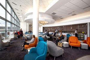 Air France: lounge rinnovata all'aeroporto di Washington