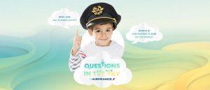 "Air France risponde ai bambini con ""questions in the sky"""